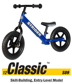 Strider Classic Balance Bike Free Shipping