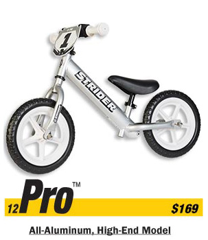 Strider Pro Balance Bike Free Shipping